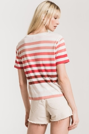 Z Supply  Rainbow Stripe Tee - Front full body