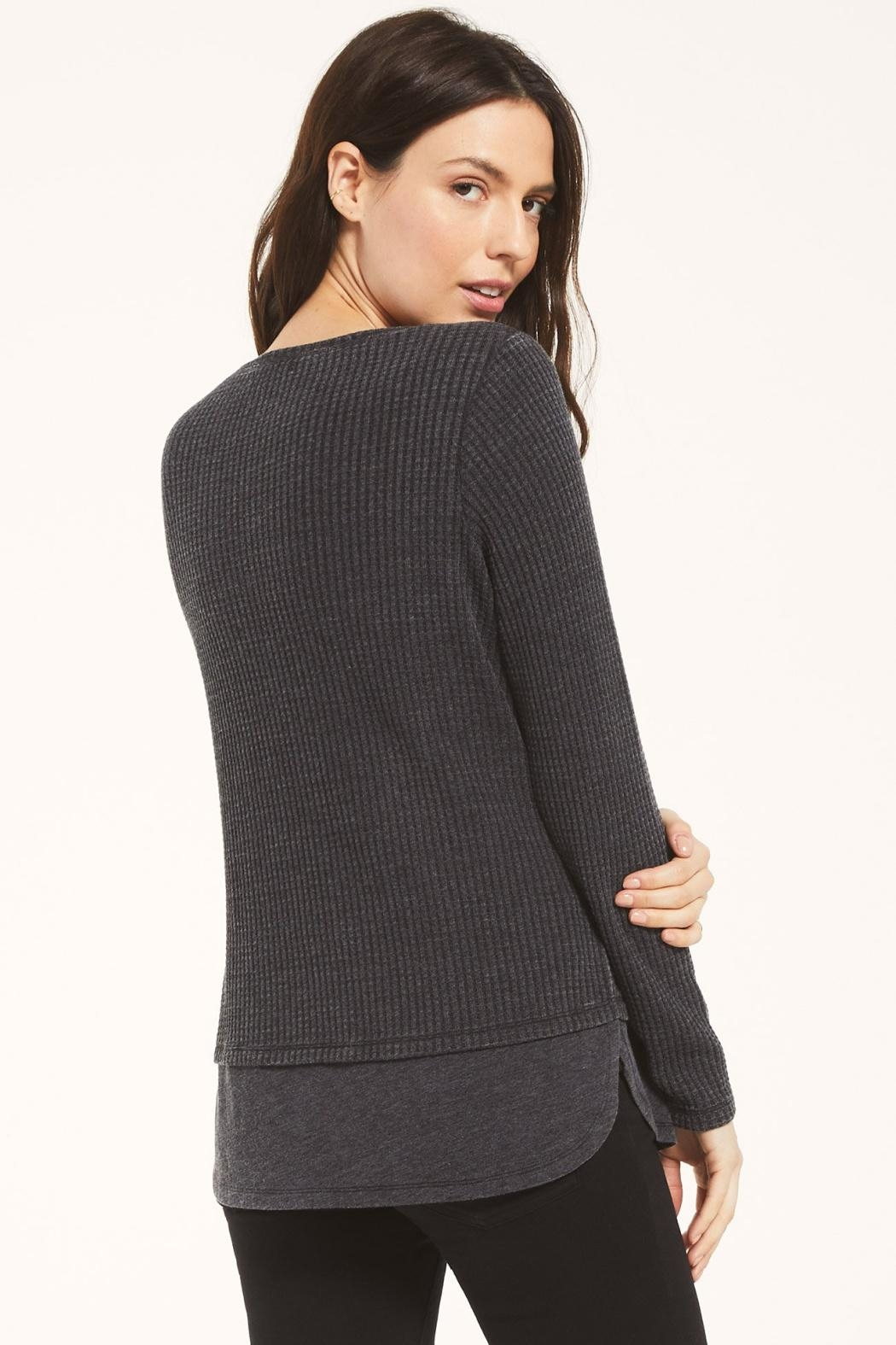 z supply Raine Thermal Tunic - Side Cropped Image