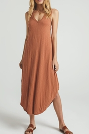z supply Reverie Brown Dress - Front cropped