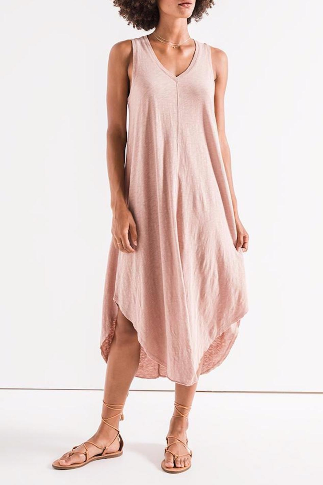 z supply Reverie Midi Dress - Main Image
