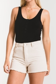 z supply Rib Tank Bodysuit - Front cropped