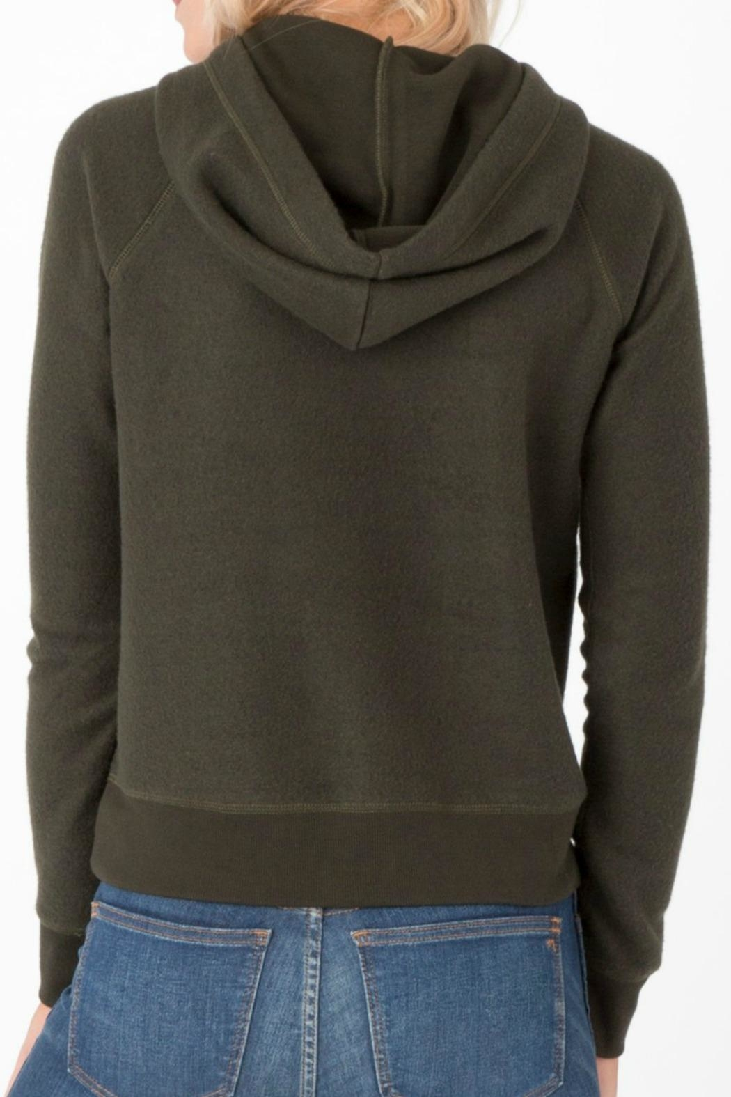 z supply Rosin Pullover Hoodie - Front Full Image