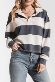 z supply Rugby Stripe Shirt - Front cropped