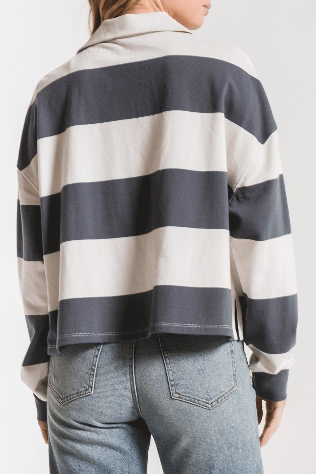 z supply Rugby Stripe Shirt - Front Full Image