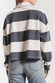 z supply Rugby Stripe Shirt - Front full body