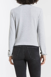 z supply Runched Long-Sleeve Top - Back cropped