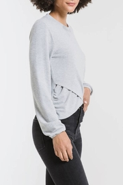 z supply Runched Long-Sleeve Top - Side cropped
