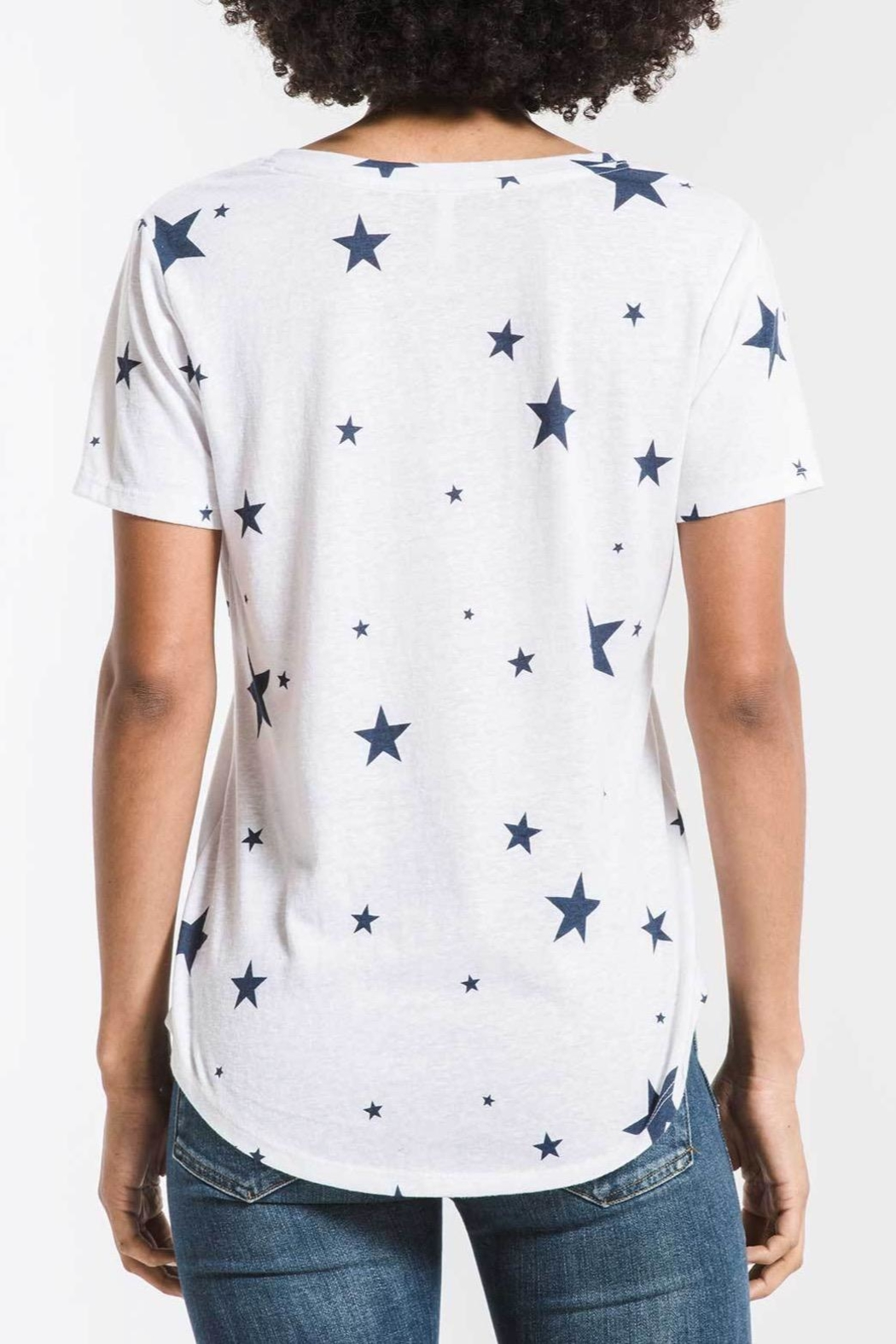 z supply Scatter Star Tee - Front Full Image