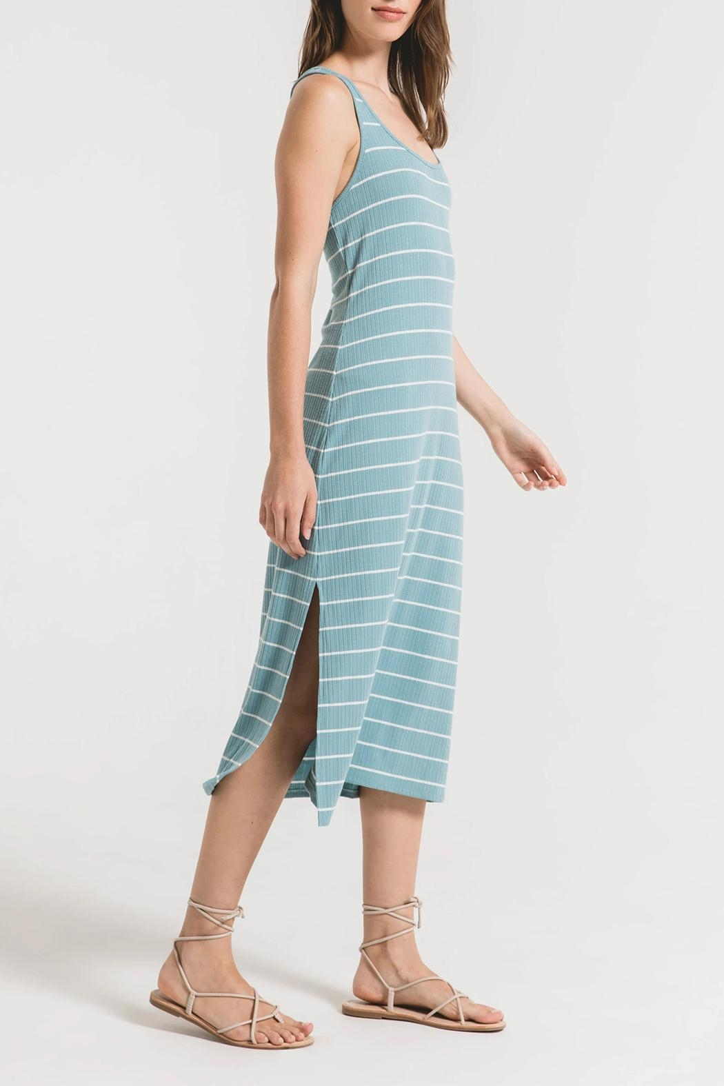 Z Supply  Seri Tank Dress - Side Cropped Image