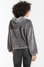 z supply Sherpa Pullover Hoodie - Side cropped