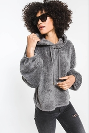 z supply Sherpa Pullover Hoodie - Front cropped