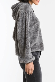 z supply Sherpa Pullover Hoodie - Back cropped