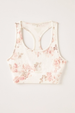 Z Supply  Sia Floral Tank Bra - Alternate List Image