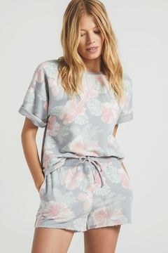 z supply Sione Floral Tee - Product List Image