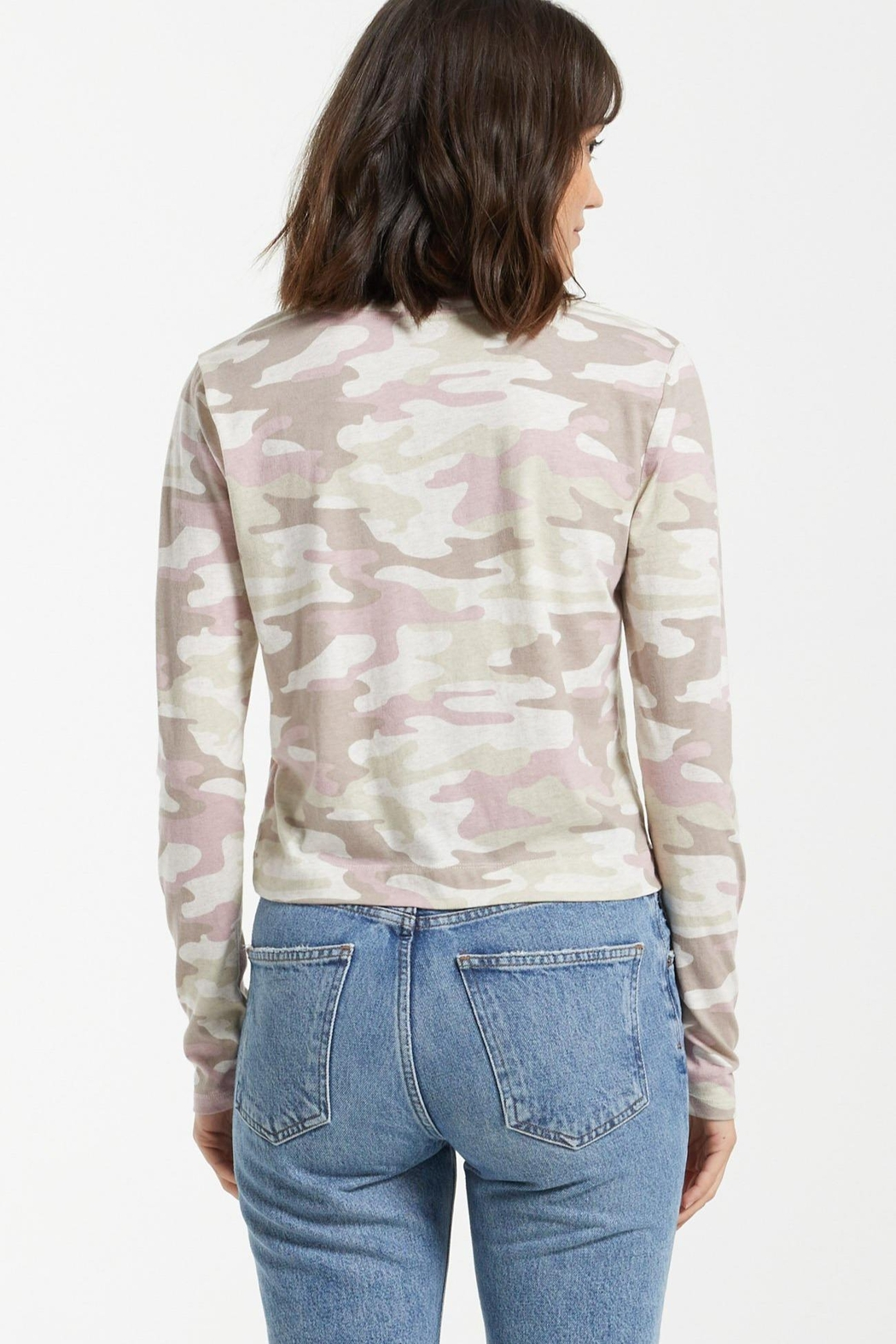 z supply Skimmer Camo Long-Sleeve - Main Image