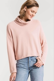 z supply Skimmer Mock Neck - Front cropped