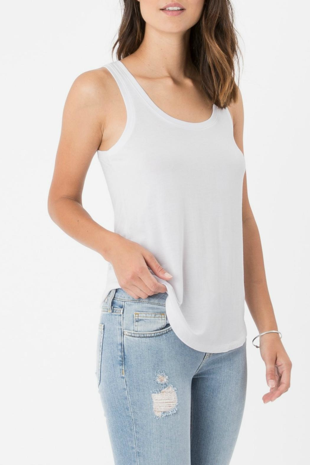 z supply Sleek Jersey Tank - Front Cropped Image
