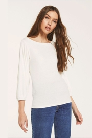 z supply Soft 3/4-Sleeve Top - Product Mini Image