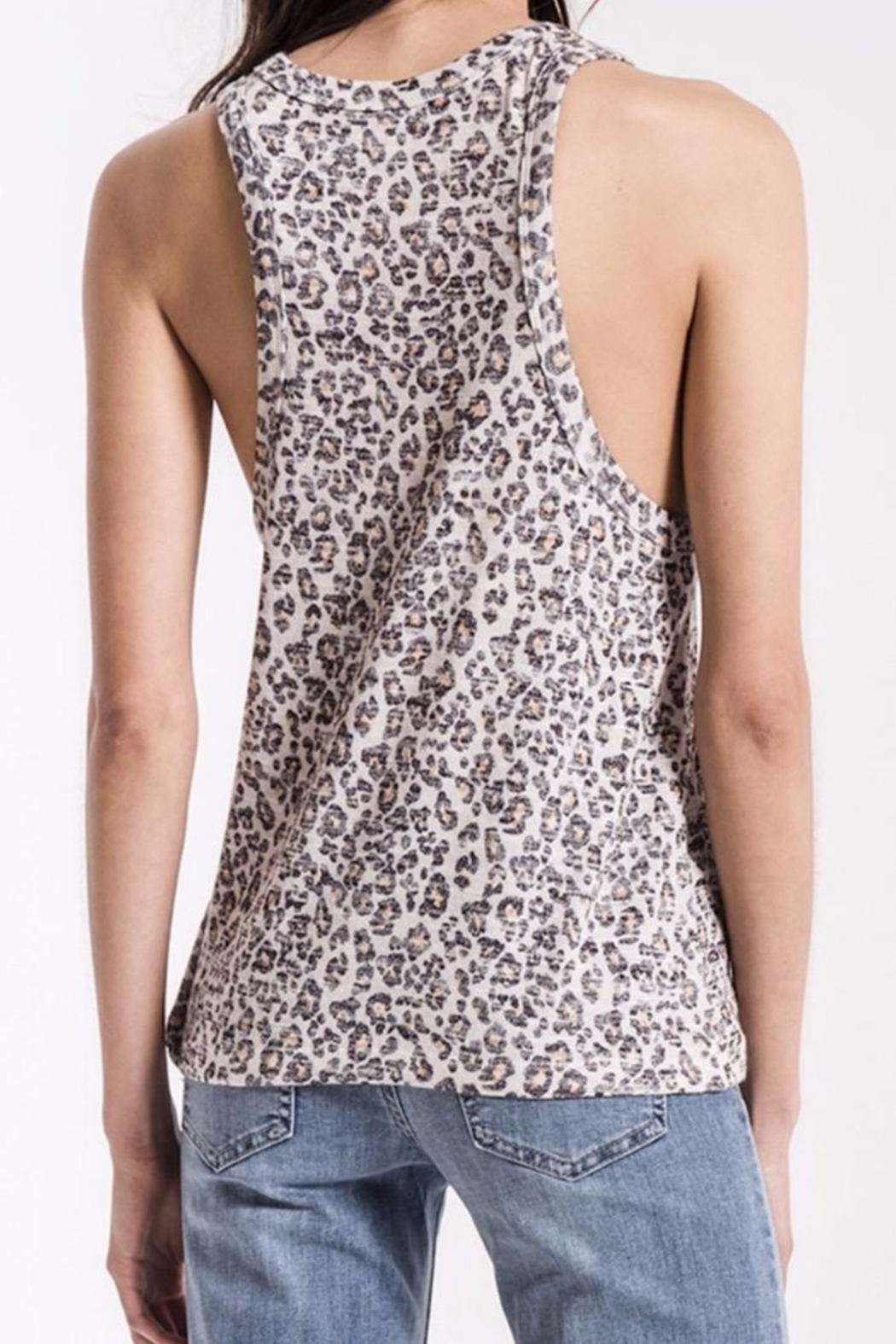 z supply Soft Leopard Tank - Front Full Image