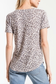 z supply Soft Leopard Tee - Front full body