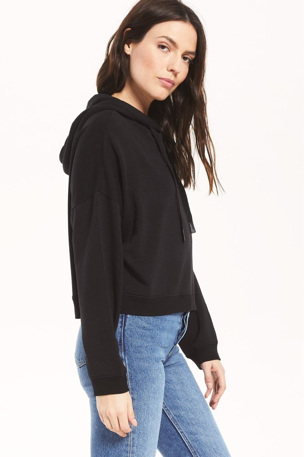 z supply Soho Fleece Hoodie - Side Cropped Image
