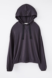 z supply Sonya Whisper  Hoodie - Back cropped
