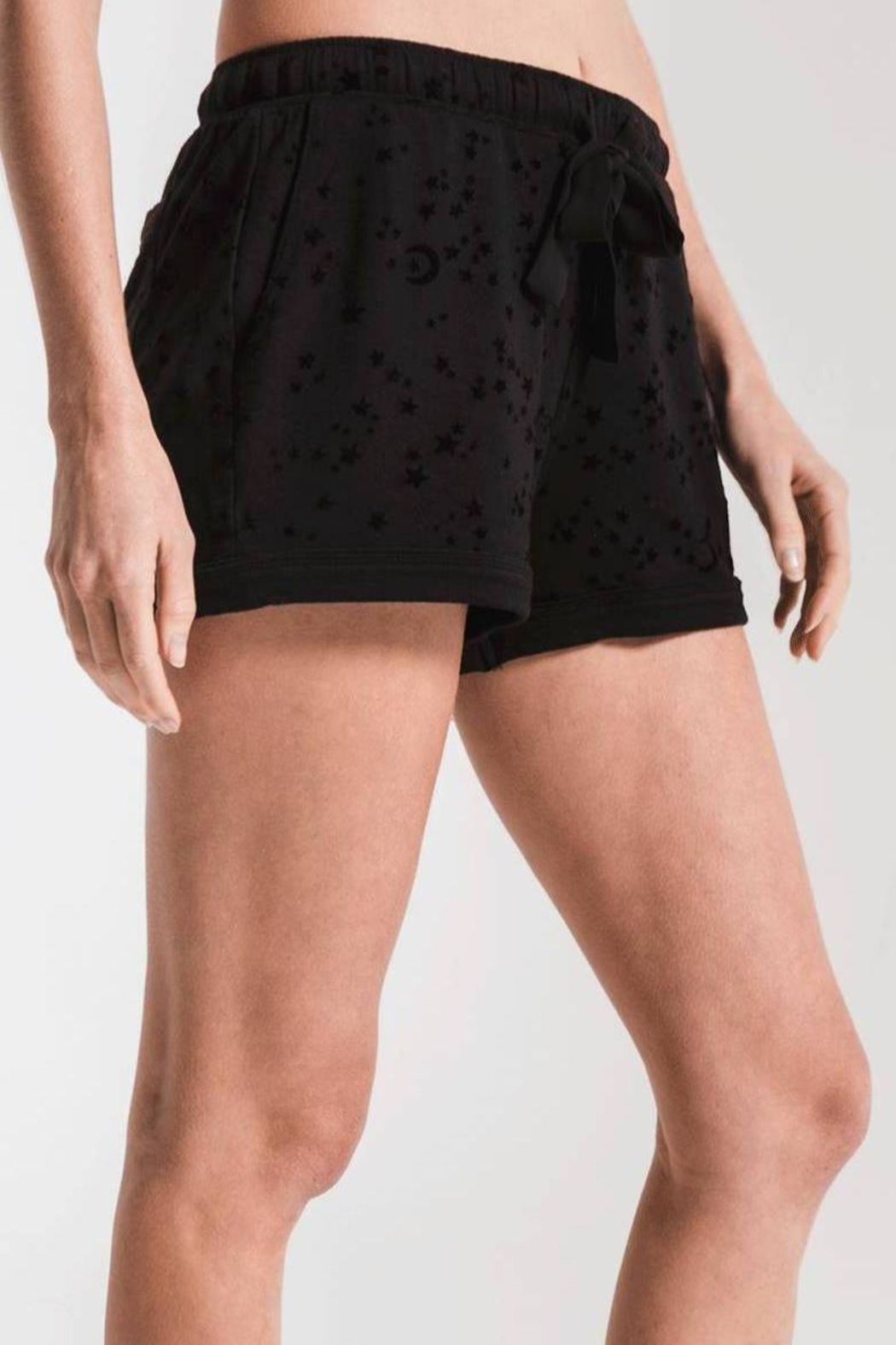 z supply Star Pajama Shorts - Front Cropped Image