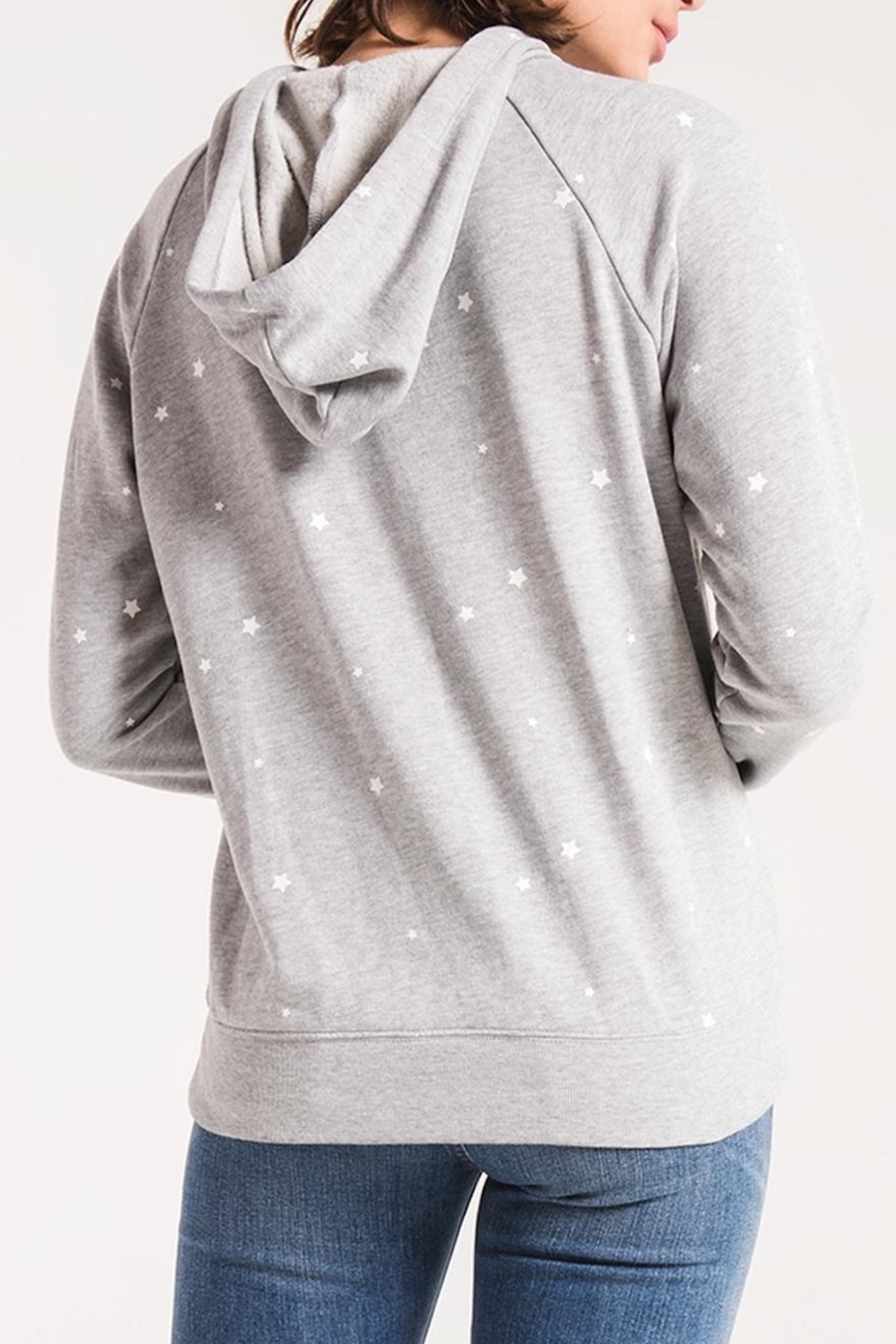 z supply Star Print Pullover - Side Cropped Image