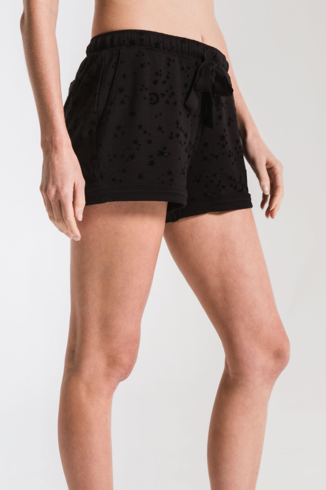 z supply Stars Pajama Shorts - Side Cropped Image