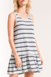 z supply Striped Peplum Dress - Product Mini Image