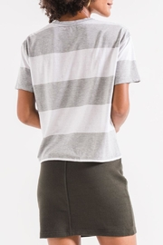 z supply Stripped Top - Back cropped