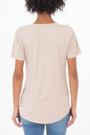 z supply Suede Pocket Tee - Side cropped