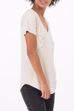 Shoptiques Product: Suede Pocket Tee