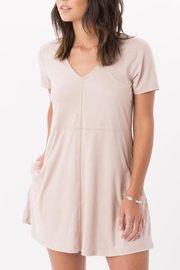 z supply Suede Shift Dress - Product Mini Image