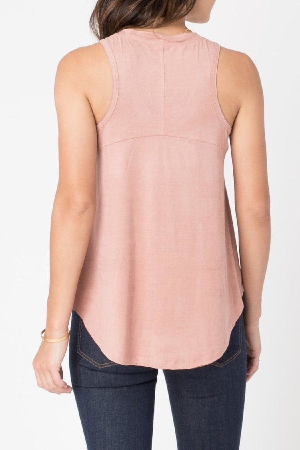 z supply Suede Swing Tank - Side Cropped Image