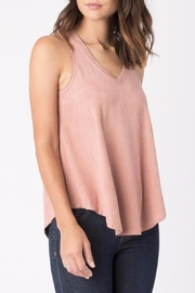 z supply Suede Swing Tank Top - Product Mini Image