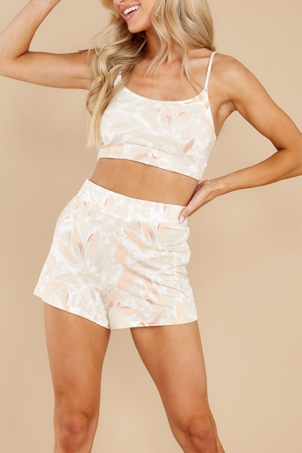 z supply Summerland Crop Top - Front Full Image