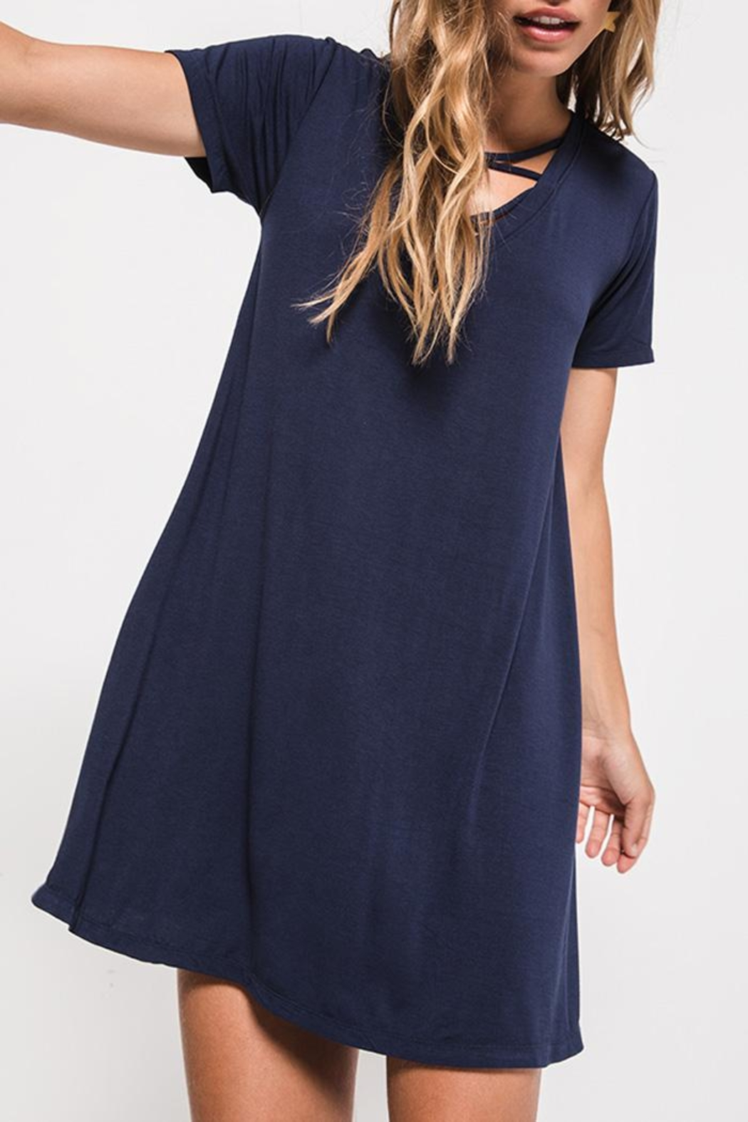z supply T-Shirt Dress - Front Full Image