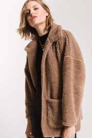 z supply Teddy Bear Coat - Front cropped