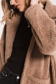 z supply Teddy Bear Coat - Back cropped