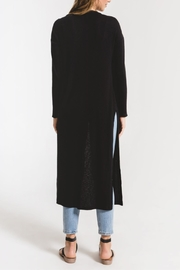 z supply Textured Rib Duster Cardigan - Back cropped