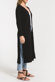 z supply Textured Rib Duster Cardigan - Side cropped