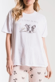 z supply The Frenchie Tee - Front cropped