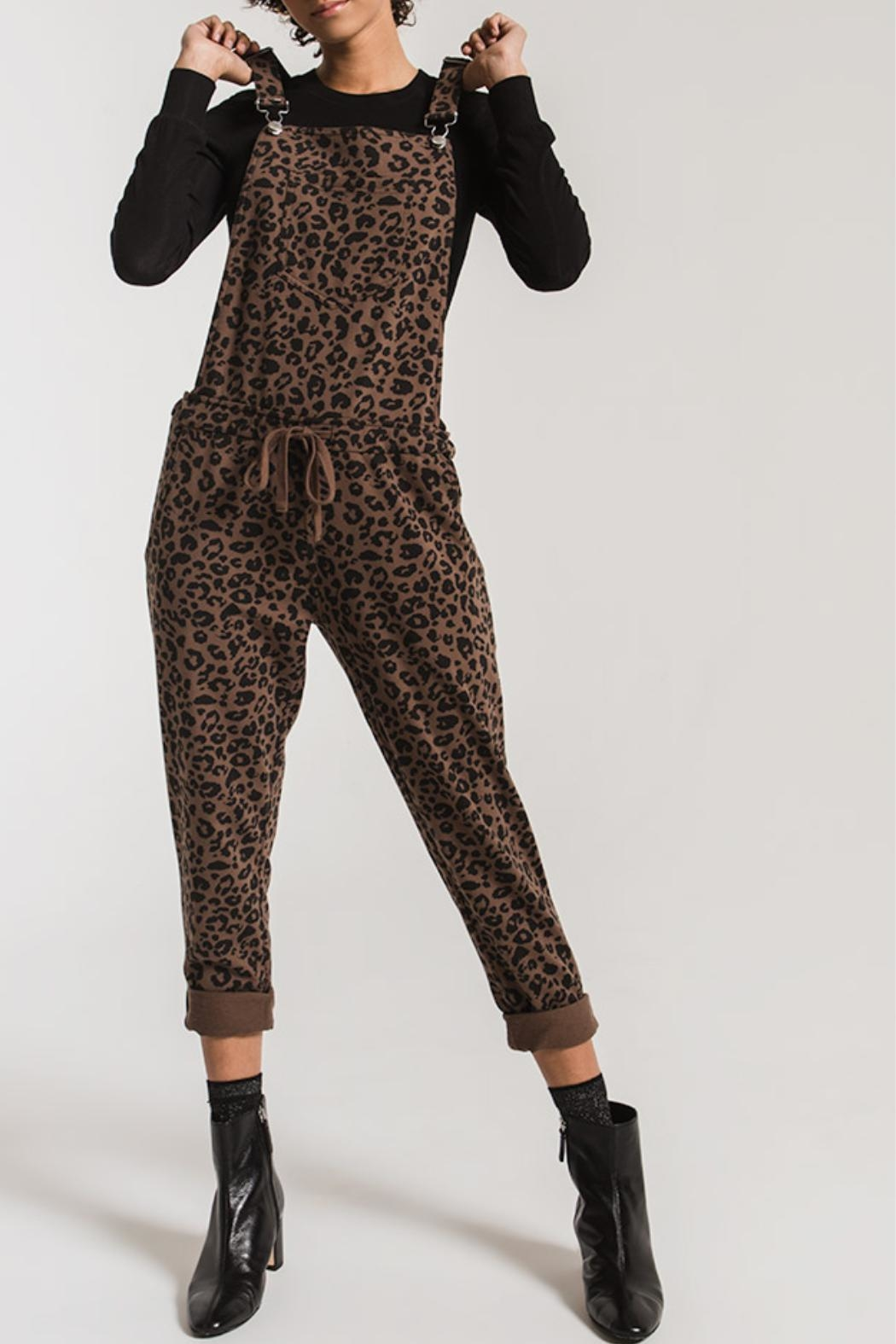 z supply The Leopard Overall - Front Cropped Image