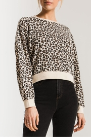 z supply The Leopard Pullover - Product Mini Image