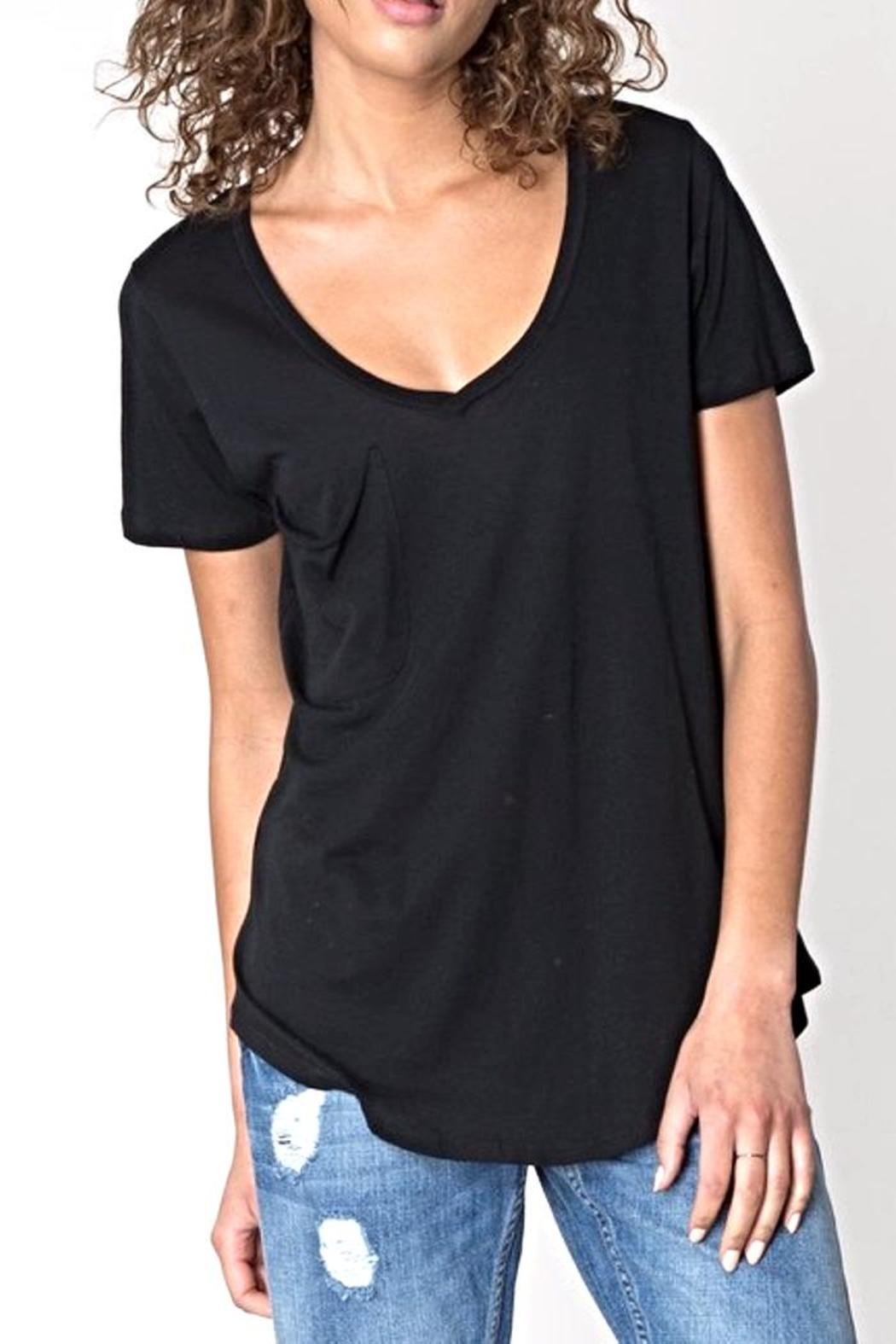 z supply The Modal Tee - Front Cropped Image