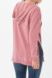 z supply Quinn Hoodie Top - Front full body