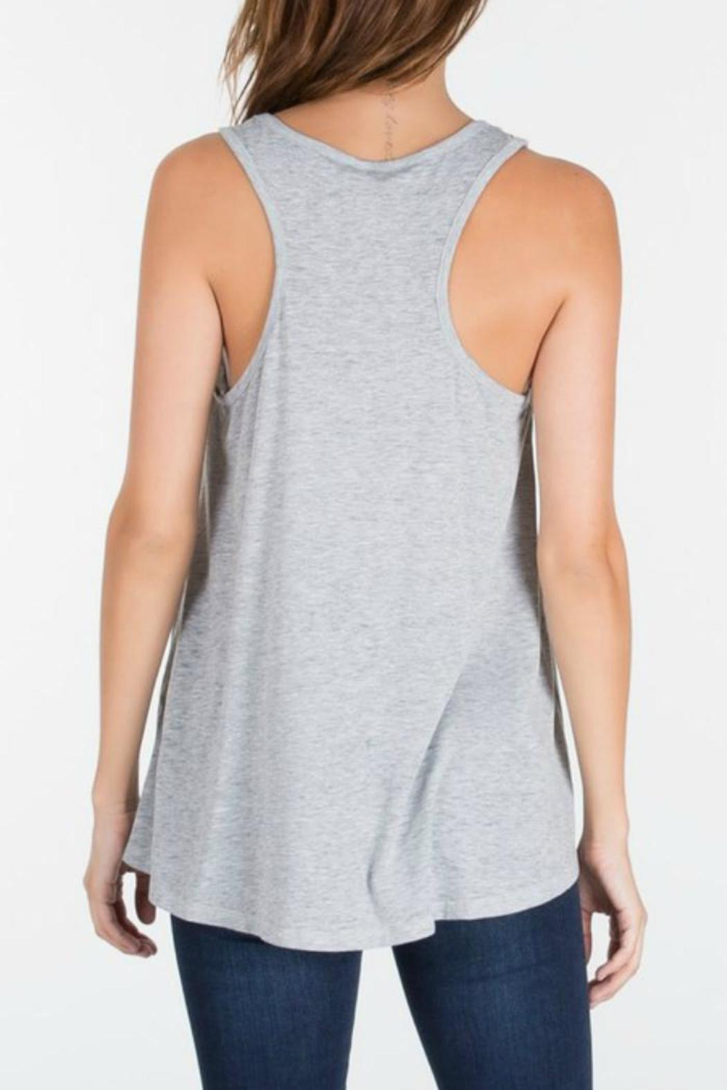 z supply The Racer Tank - Side Cropped Image
