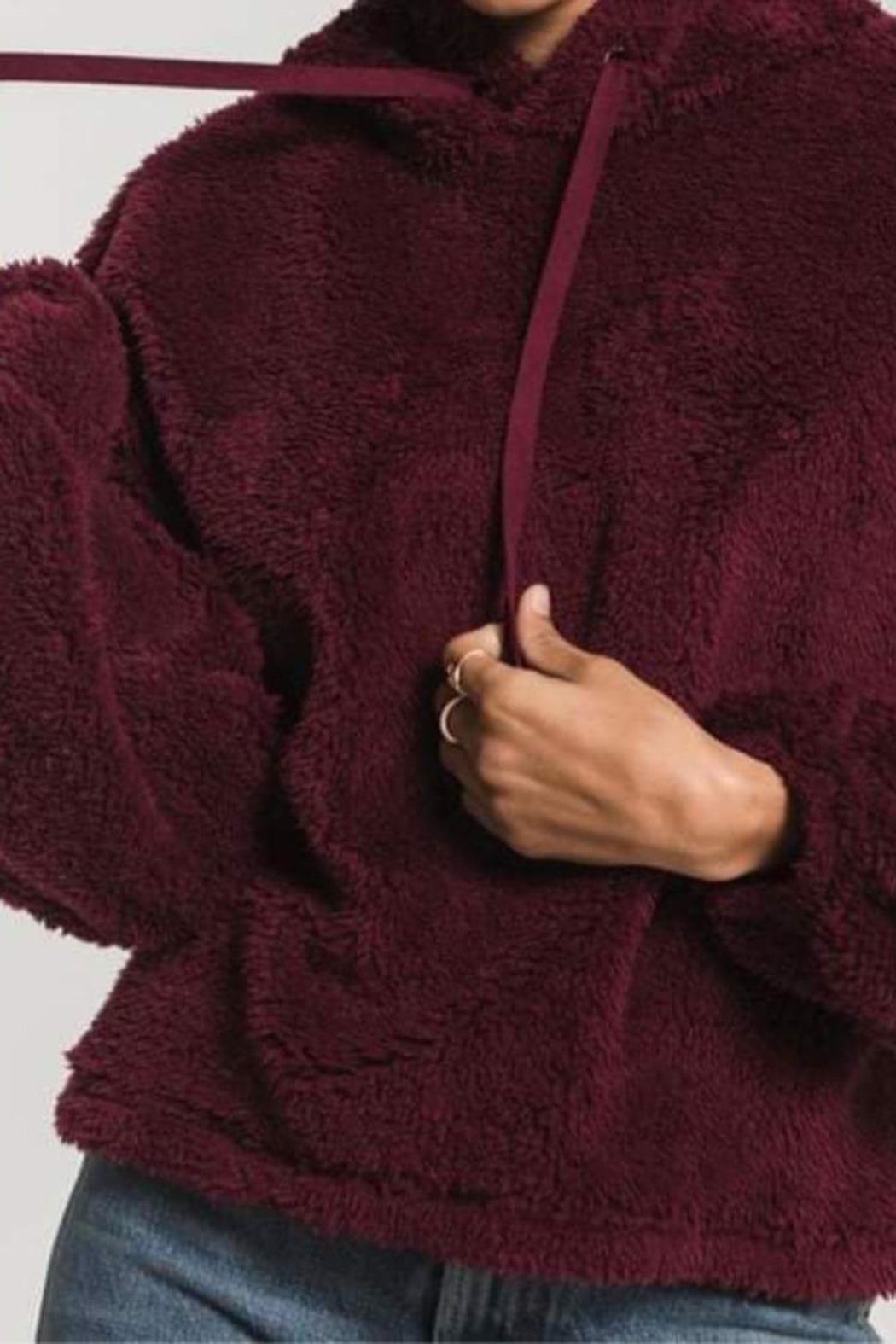 z supply The Sherpa Pullover - Front Cropped Image