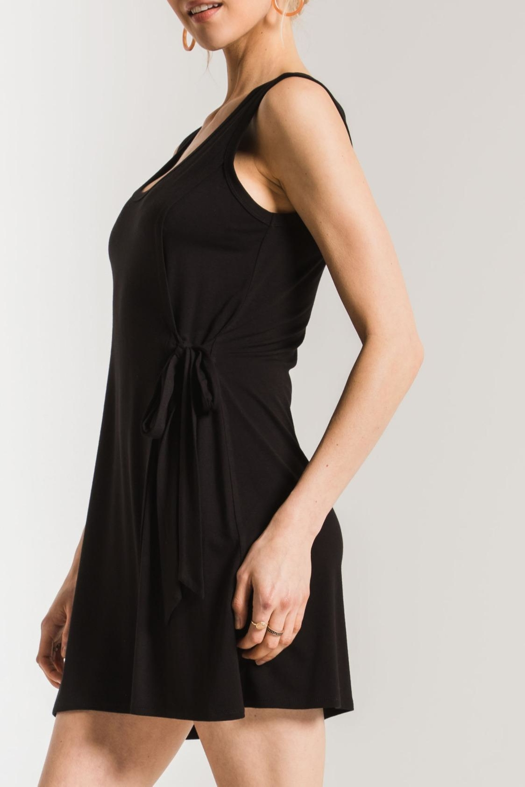 z supply The Side Tie Dress - Side Cropped Image